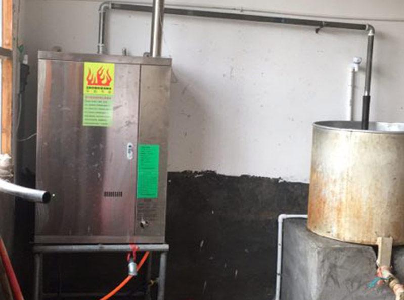 蒸汽发生器用于煮豆花