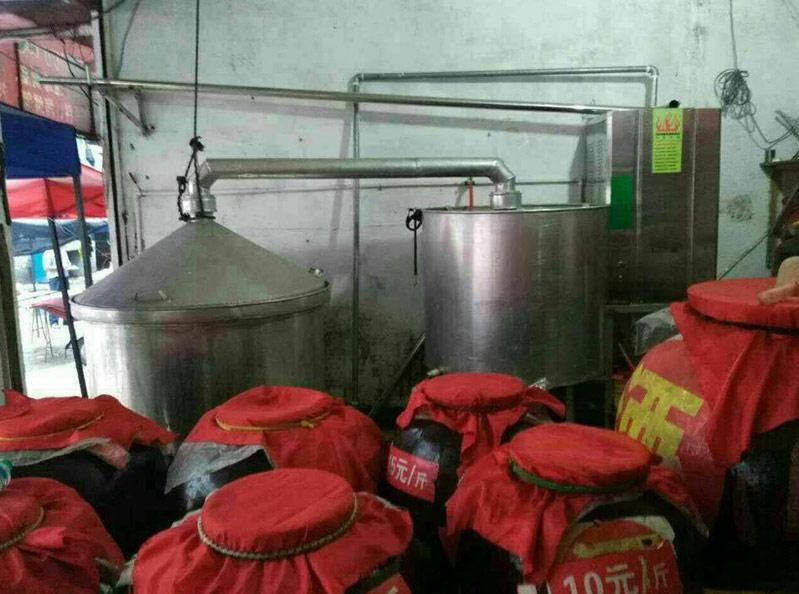 蒸汽发生器用于酿酒