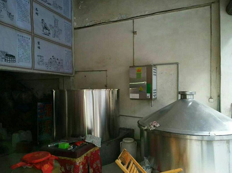 蒸汽发生器用于蒸酒烤酒