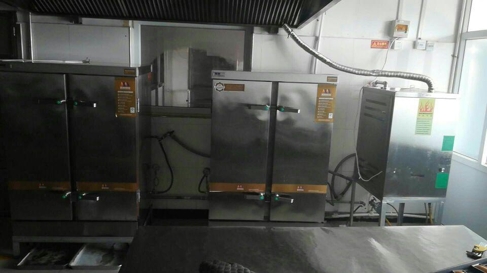 燃气蒸汽发生器配套蒸饭柜