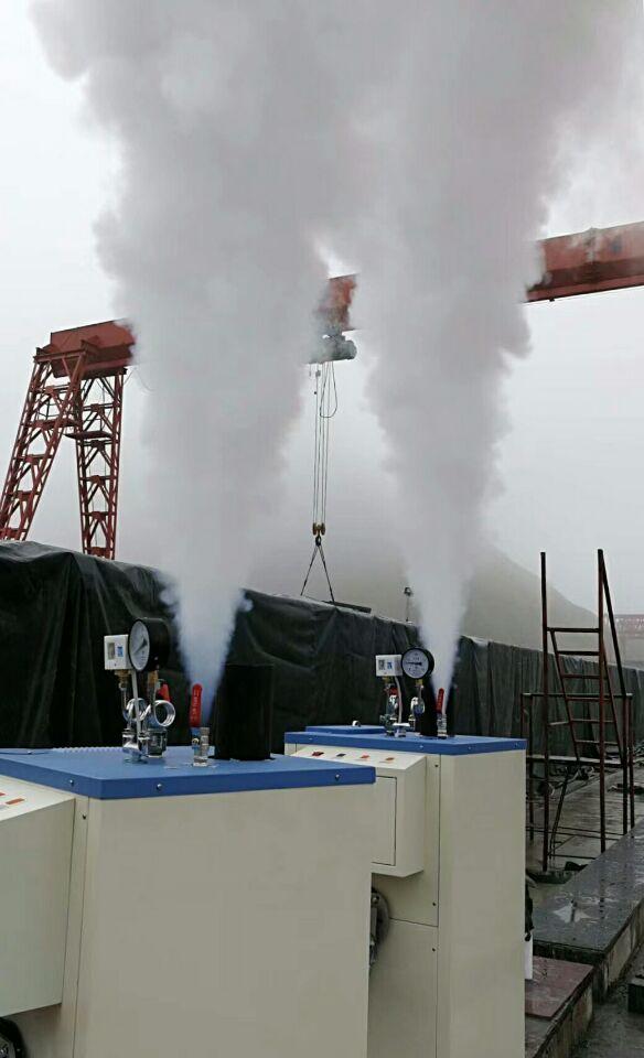 蒸汽发生器用于混凝土养护