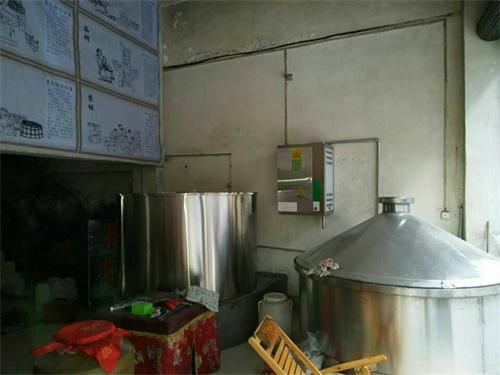 燃气蒸汽发生器蒸酒案例