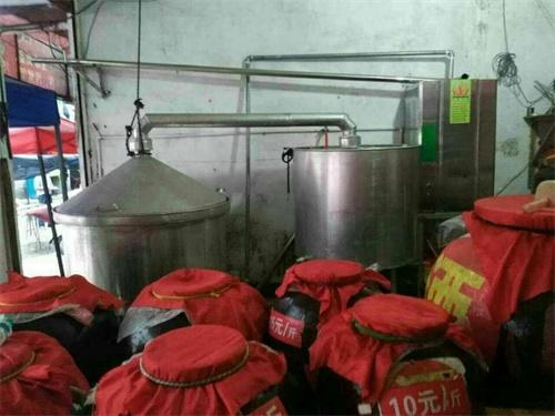 燃气蒸汽发生器配套烤酒案例