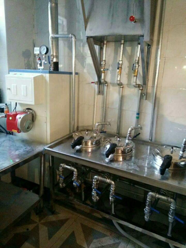 天然气蒸汽发生器配套于煮面
