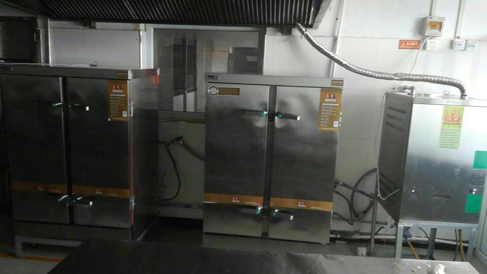小型蒸汽发生器配套蒸饭柜案例