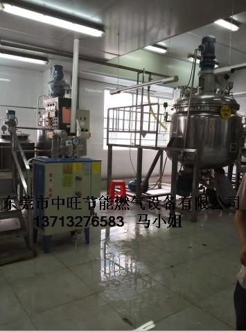 小型电加热蒸汽锅炉配套夹层锅案例